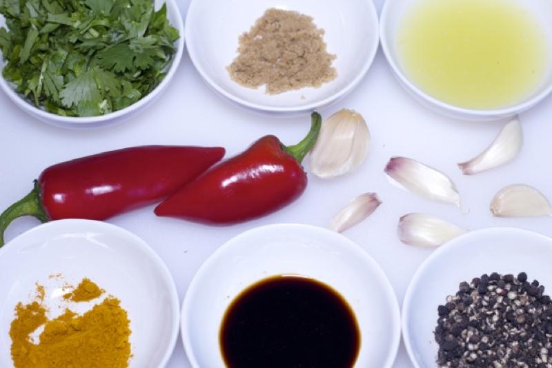 Thai garlic chicken recipe grilled thai garlic chicken recipe forumfinder Choice Image